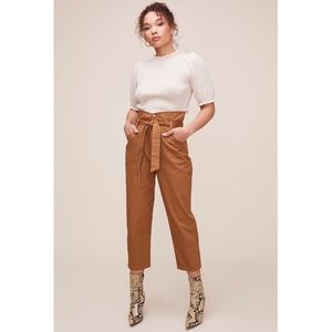 NEW ASTR the label Penelope Pants Brown Belted